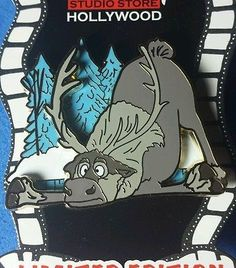 HTF Disney Pin DSSH Very Bad Day Series Very Bad Slip Sven LE 400 OC Frozen