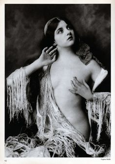 """Virginia Biddle - From the book """"Collectors Photography"""" - Photo by Alfred Cheney Johnston IBDB says that she was in the Ziegfeld Follies of 1931. Historical Ziegfeld"""