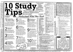 Top 10 Study Tips     #studytips #studying #schooltips