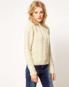 The cozy, timeless appeal of a classic fisherman's sweater: http://www.styleninetofive.com/2012/10/01/vancouver-fashion-jobs-go-fish/ (Photo: ADAM by Adam Lippes)