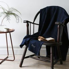 We are so wrapped up in this throw. #food52shop #linen #comfort #wonderful