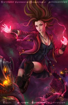 Wanda Maximoff / Scarlet Witch by Garvel.deviantart.com on @DeviantArt