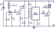 """""""FIRE ALARM CIRCUIT""""-The circuit which can detect fire #electronics #circuit #sensor"""