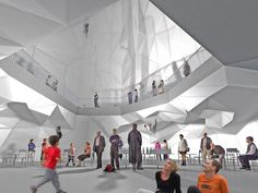 NL architects' proposal for 'the silo competition' in amsterdam