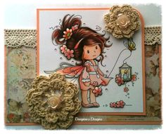 MyCarden: Sweet Sparkle - Loves Rubberstamps Sensational Sunday Blog Hop - Whimsy Wee Stamps
