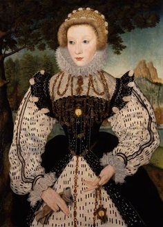 Unknown woman, formerly known as Mary, Queen of Scots - unknown artist - National Portrait Gallery, London