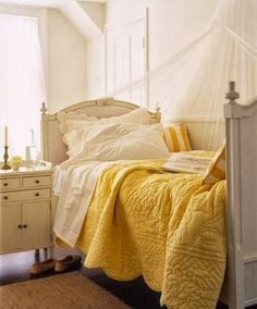 The Best DIY and Decor Place For You: Yellow Bedroom