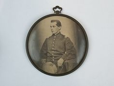 Tintype of Lieutenant Thomas Foulds Ellsworth (1840-1911) | by Pasadena Digital History