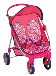 Details about Twin Doll Pram Stroller Carrier Carriage Baby Girl ...