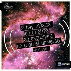 #Frases #Música #Universo