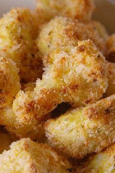 Parmesan Cauliflower BitesDelish