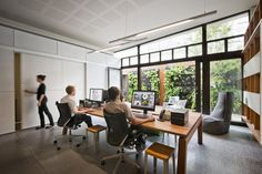 Check Out Oxigen's Clean and Wooden Australian Office  NEW OFFICE.