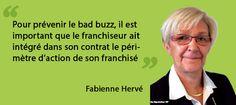 Interview e-réputation des franchisés avec Fabienne Hervé