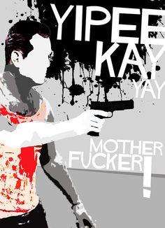 Die Hard [John McTiernan, 1988] «Movie Quotes With A Gun Author: Edgar Ascensao»
