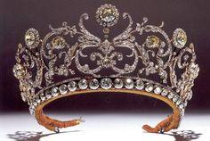 The Abamalek Lazarev tiara often wrongly attributed to Grand Duchess Vladimir