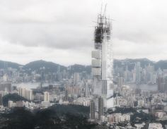 Coalesce Skyscraper for Hong Kong by Justin Oh