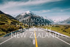Free guide to help you with planning your New Zealand road trip. It includes custom built travel itineraries, tips on best photography and hiking locations as well as ideas for your next New Zealand road trip. Nz South Island, New Zealand South Island, Driving In New Zealand, Sydney Australia Travel, Australia Trip, Honeymoon In New Zealand, New Zealand Adventure, New Zealand Travel Guide, Travel Route