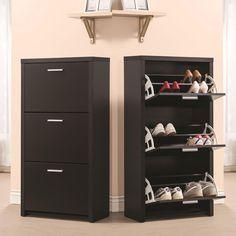 3 Drawer Shoe Storage Cabinet