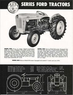 800 Series Tractors