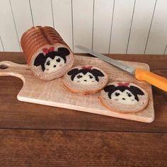 В Японии пекут хлеб с рисунками на срезе