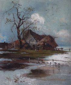 """Spring, 1880, Aleksey Savrasov """