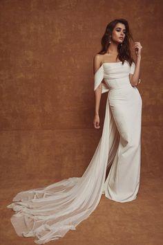 Sarah Seven x TBA - Abigail is Italian — The Bridal Atelier - Wedding Dresses - Melbourne & Sydney Stores Custom Wedding Dress, Dream Wedding Dresses, Bridal Dresses, Wedding Gowns, Prom Dresses, Slinky Wedding Dress, Lace Wedding, Civil Wedding, Wedding Rustic