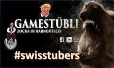 Gamestübli Kanalvorstellung von Schweizer YouTuber und Streamer. Youtuber, Swiss Guard, Fiction