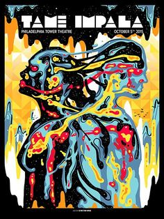 Smashing Gig Poster Illustrations by Munk One | From up North