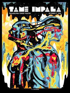 Smashing Gig Poster Illustrations by Munk One