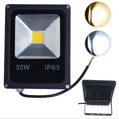 26.16$  Watch now - http://aiq6d.worlditems.win/all/product.php?id=32722905857 - 30W 85~265V LED Floodlight waterproof IP65 Outdoor LED spotlights Blue RGB Green Red Warm White Cold White street Flood lights
