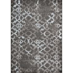 8 x 10 Large Contemporary Brown Area Rug - Monterey