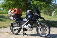 thats the way to carry your luggage! Motorcycle Camping, Happy Trails, Street Bikes, Dirt Bikes, Motorbikes, Motorcycles, Adventure, Big, Words