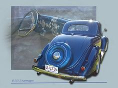 Ford Deluxe 3 window coupe (1936) .