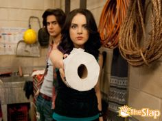 Jade must feel safe knowing she can use toilet paper as a weapon in an emergency situation.