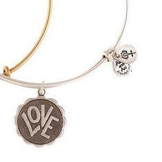 Alex and Ani ~Love Bangle Bracelet Set