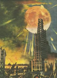 Chesley Bonestell The end of the world