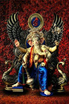 Ganesha ji pictures collection - Life Is Won For Flying (WONFY) Jai Ganesh, Ganesh Lord, Ganesh Idol, Ganesha Art, Shree Ganesh, Shri Ganesh Images, Ganesh Chaturthi Images, Ganesha Pictures, Radha Krishna Images