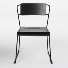 TRANSIT BLACK DINING CHAIR - Seating - Office | HD Buttercup Online