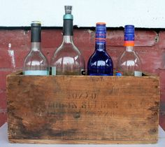 37 Vintage Craft Crate Ideas – Fun And Creative Things To Do With Old Crates - 23