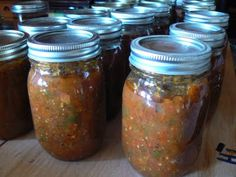 Like a Chili SAuce. Can be used for many different things.  Spaghetti sauce, soup base, or over meats in a crock pot.