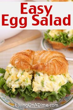 This easy egg salad recipe is another tasty recipe to help use up all those colored eggs after Easter. You can make up a big batch and have it for several lunches. You can add lettuce leaves or celery for extra crunch.