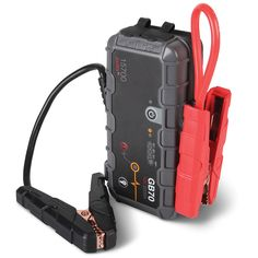 ((Just in case of emergencies and no cars for miles)) The Best Automotive Jump Starter - Hammacher Schlemmer Motorcycle Camping, Camping Gear, Birthday Gifts For Boyfriend, Boyfriend Gifts, Buy Used Cars, Car Buying Tips, Car Salesman, Salesman Humor, Hammacher Schlemmer