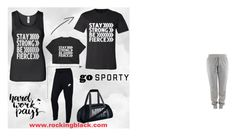 """""""Stay Strong Be Fierce LookBook"""" by rockingblackinc on Polyvore featuring NIKE"""