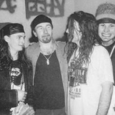 Jeff :D #mikemccready #daveabbruzzese #jeffament #pearljam