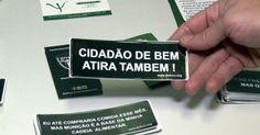 Cerca de 40 mil brasileiros morrem vítimas de arma de fogo todo ano