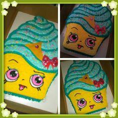 Shopkins cake by @curshanacakes