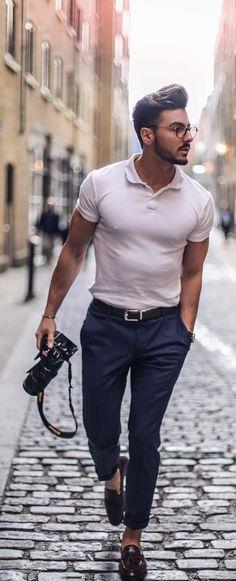 men's rhomboid body type outfit