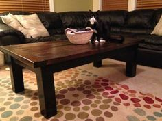 Updated Tryde Coffee Table | Do It Yourself Home Projects from Ana White