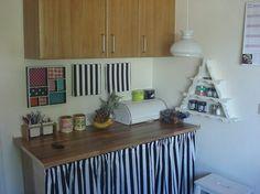 I køkkenet