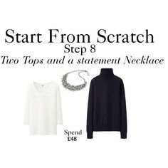 Start From Scratch - Step 8 by charlotte-mcfarlane on Polyvore featuring Uniqlo